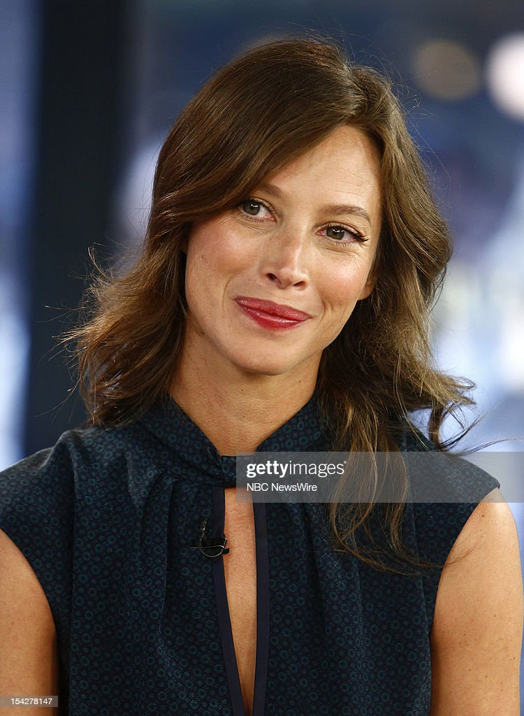 Christy Turlington Burns appears on NBC News' 'Today' show --