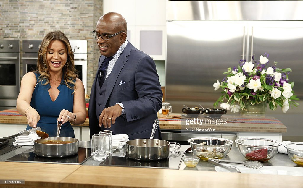 Christy Vega and <a gi-track='captionPersonalityLinkClicked' href=/galleries/search?phrase=Al+Roker&family=editorial&specificpeople=206153 ng-click='$event.stopPropagation()'>Al Roker</a> appear on NBC News' 'Today' show --