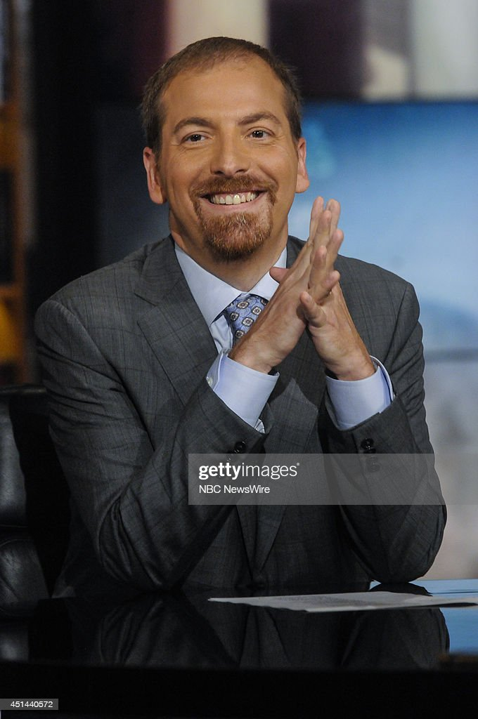 Chuck Todd, NBC News Political Director, appears on 'Meet the Press' in Washington, D.C., Sunday, June 29, 2014.