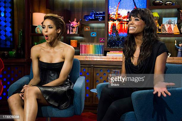 Ciara and Aisha Tyler Photo by Charles Sykes/Bravo/NBCU Photo Bank via Getty Images