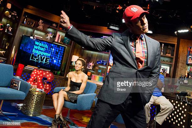 Ciara and Andy Cohen Photo by Charles Sykes/Bravo/NBCU Photo Bank via Getty Images