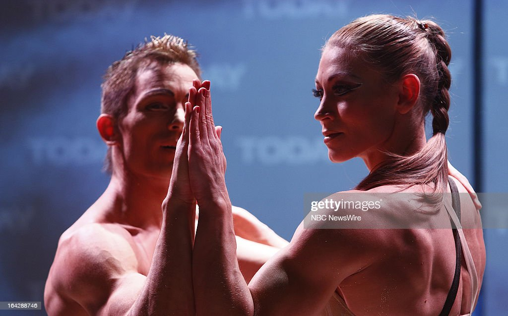 Cirque du Soleil's Totem perform ?Hand to Hand? on NBC News' 'Today' show on March 22, 2013 --