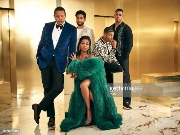 Pictured Clockwise LR Terrence Howard Jussie Smollett Bryshere Gray Trai Byers and Taraji P Henson on Season Four of EMPIRE premiering Wednesday Sept...