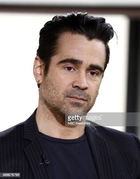Colin Farrell appears on NBC News' 'Today' show