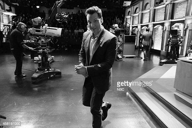 MEYERS Pictured Comedian Dane Cook departs after an interview on October 14 2014