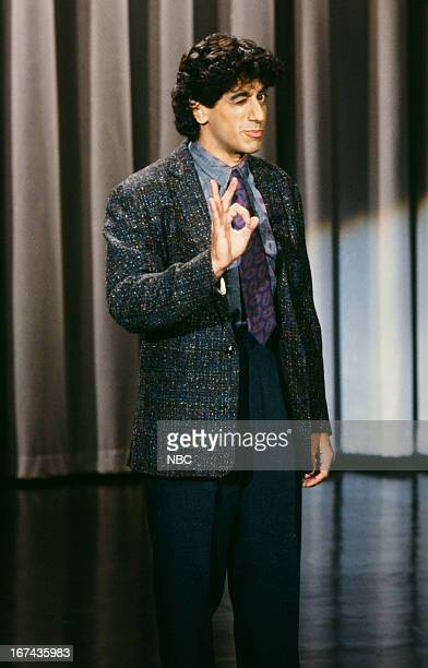 Comedian Jeff Cesario on November 12 1987