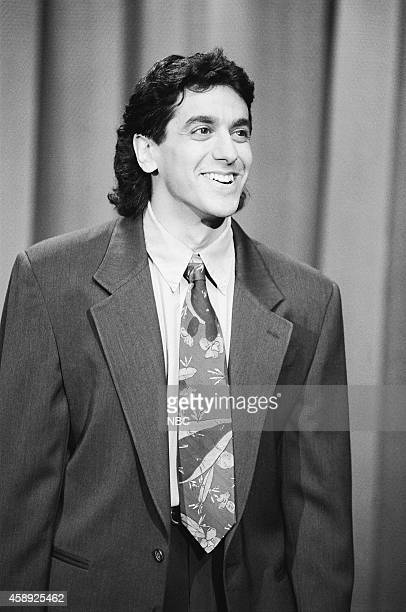 Comedian Jeff Cesario performs on March 16 1990