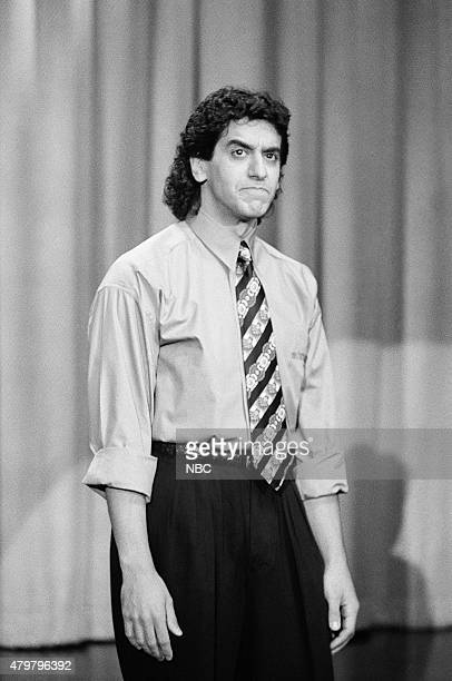 Comedian Jeff Cesario performs on October 15 1990