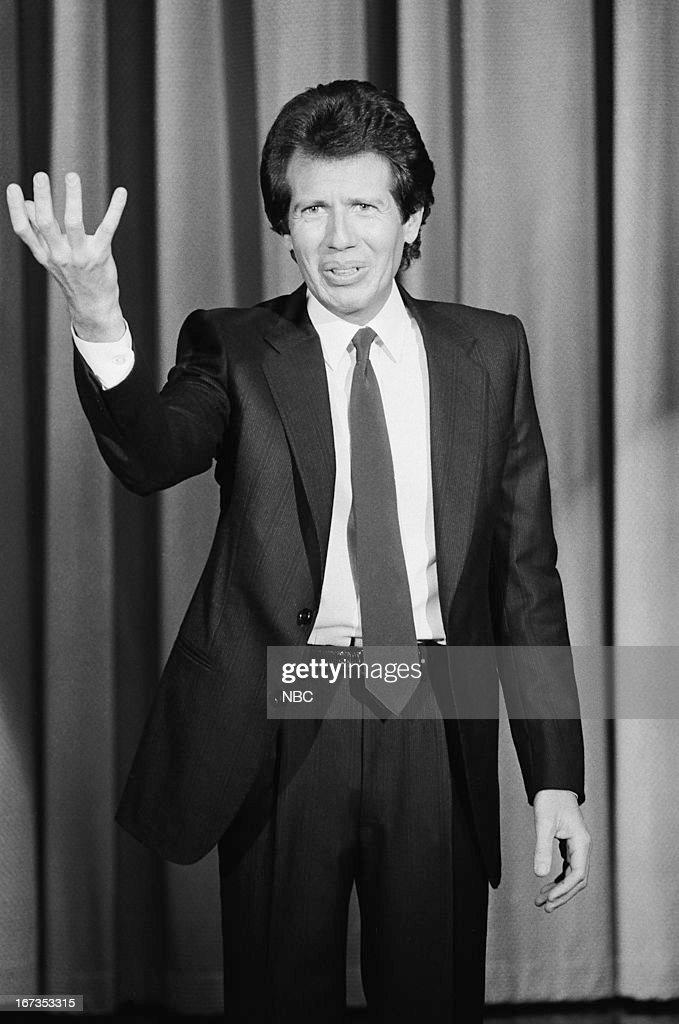 Comedian/actor Garry Shandling on September 28, 1983 --