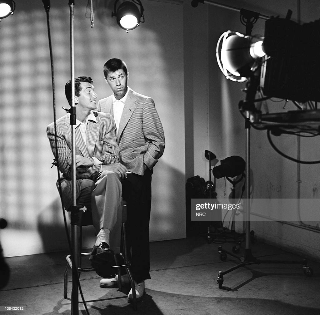 Comedy duo Dean Martin, Jerry Lewis c. 1954
