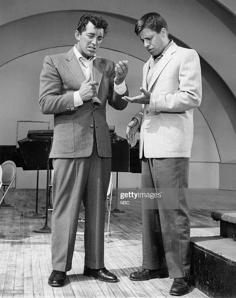 Comedy Duo Dean Martin, Jerry Lewis in the 1950s--