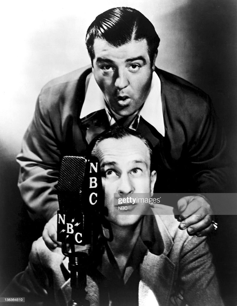 <a gi-track='captionPersonalityLinkClicked' href=/galleries/search?phrase=Bud+Abbott&family=editorial&specificpeople=228402 ng-click='$event.stopPropagation()'>Bud Abbott</a> and <a gi-track='captionPersonalityLinkClicked' href=/galleries/search?phrase=Lou+Costello&family=editorial&specificpeople=123845 ng-click='$event.stopPropagation()'>Lou Costello</a> --