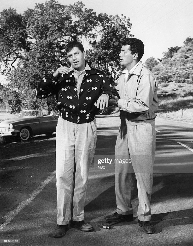 Comedy team Jerry Lewis, Dean Martin --