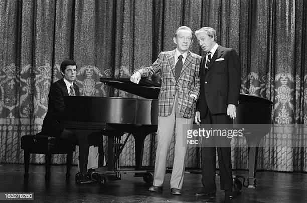 Composer Marvin Hamlisch actor/singer Bing Crosby actor/singer/dancer Ray Bolger on March 5 1976