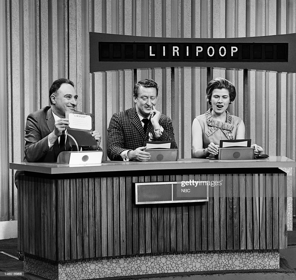 Contestant, celebrity contestant <a gi-track='captionPersonalityLinkClicked' href=/galleries/search?phrase=Tom+Poston&family=editorial&specificpeople=242842 ng-click='$event.stopPropagation()'>Tom Poston</a>, contestant --