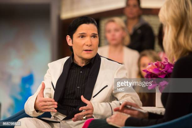 Corey Feldman and Megyn Kelly on Monday October 30 2017