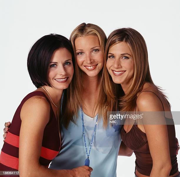 Courteney Cox as Monica Geller Lisa Kudrow as Phoebe Buffay Jennifer Ansiton as Rachel Green