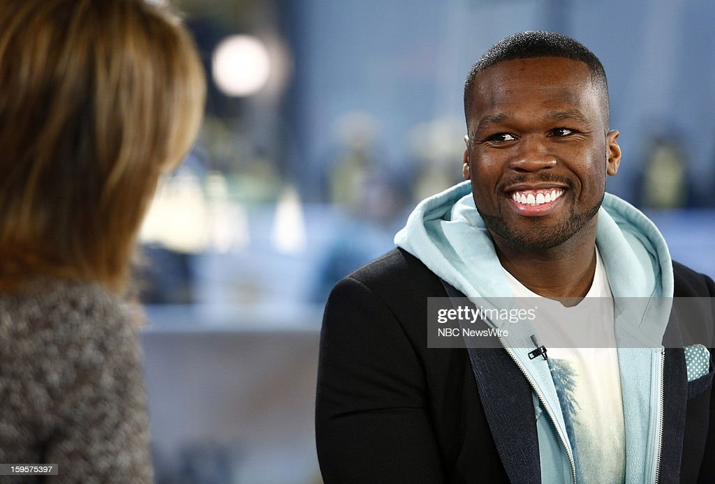 Curtis Jackson also known as '<a gi-track='captionPersonalityLinkClicked' href=/galleries/search?phrase=50+Cent+-+Rapper&family=editorial&specificpeople=215363 ng-click='$event.stopPropagation()'>50 Cent</a>' appears on NBC News' 'Today' show --
