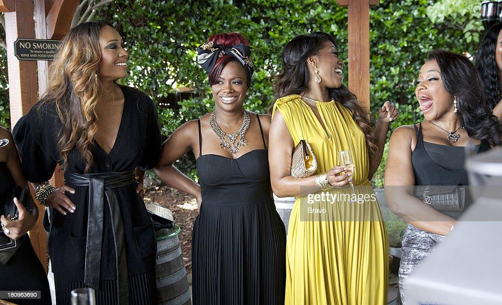 Cynthia Bailey, Kandi Burruss, Porsha Stewart, Phaedra Parks --