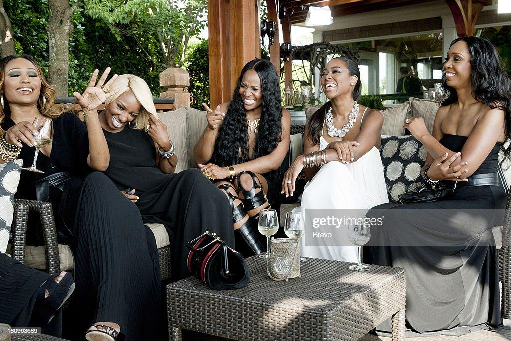 Cynthia Bailey, NeNe Leakes, Marlo Hampton, Kenya Moore, Malorie Bailey Massie --