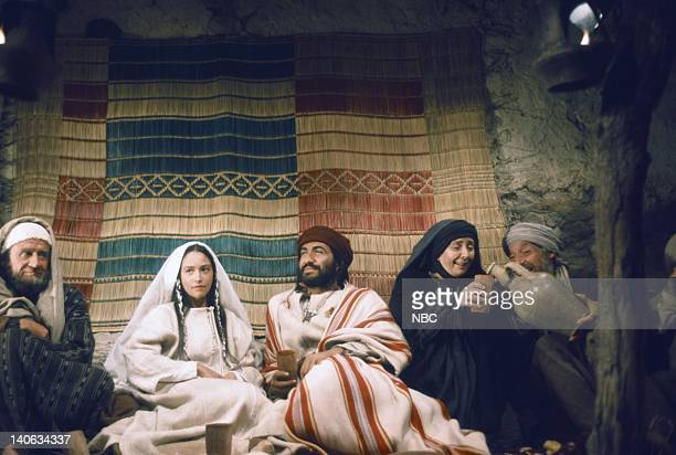 Cyril Cusack as Yehuda Olivia Hussey as Mary the mother of Jesus Yorgo Voyagis as Joseph Regina Bianchi as Saint Anne Photo by NBC/NBCU Photo Bank