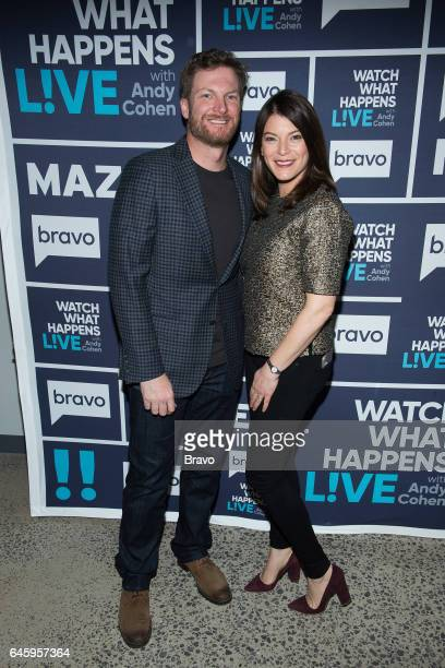 Dale Earnhardt Jr and Gail Simmons