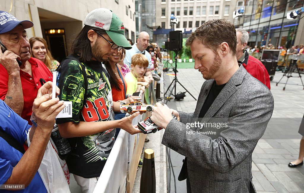 Dale Earnhardt Jr. appears on NBC News' 'Today' show --