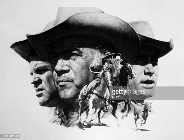 Dan Blocker as Eric 'Hoss' Cartwright Lorne Greene as Ben Cartwright Pernell Roberts as Adam Cartwright