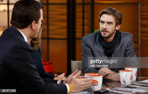 Dan Stevens appears on NBC News' 'Today' show