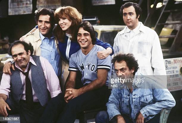 Danny DeVito as Louie De Palma Judd Hirsch as Alex Reiger Marilu Henner as Elaine O'ConnorNardo Tony Danza as Tony Banta Christopher Lloyd as...