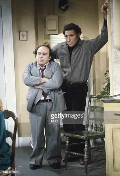 Danny DeVito as Louie De Palma Judd Hirsch as Alex Reiger Photo by Paul Drinkwater/NBCU Photo Bank