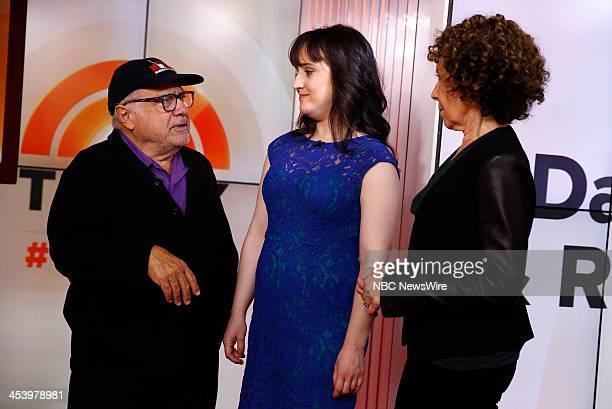 Danny Devito Mara Wilson and Rhea Perlman appear on NBC News' 'Today' show