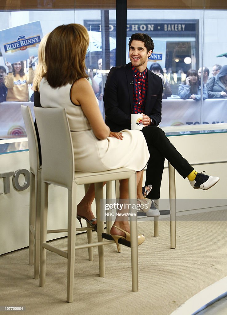 Darren Criss appears on NBC News' 'Today' show --