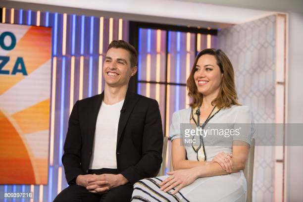Dave Franco and Aubrey Plaza on Friday June 30 2017