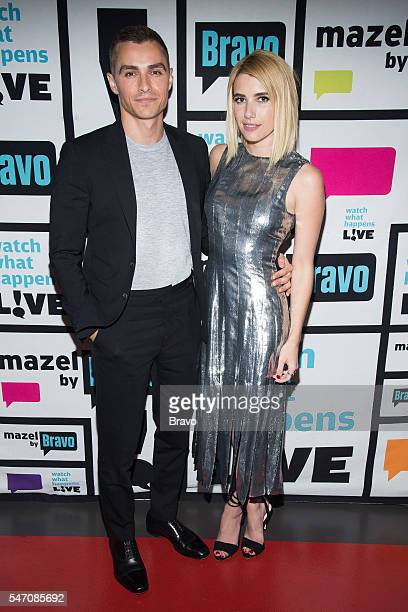 Dave Franco and Emma Roberts