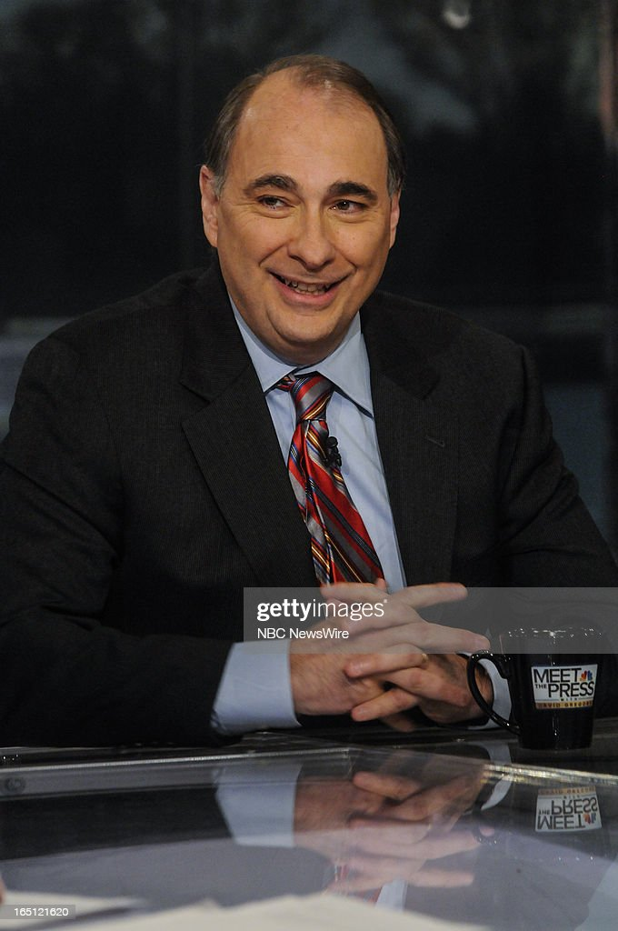 – David Axelrod, NBC News Senior Political Analyst, appears on 'Meet the Press' in Washington, D.C., Sunday, March 31, 2013.