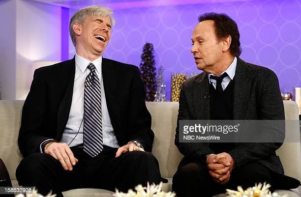 David Gregory and Billy Crystal appear on NBC News' 'Today' show