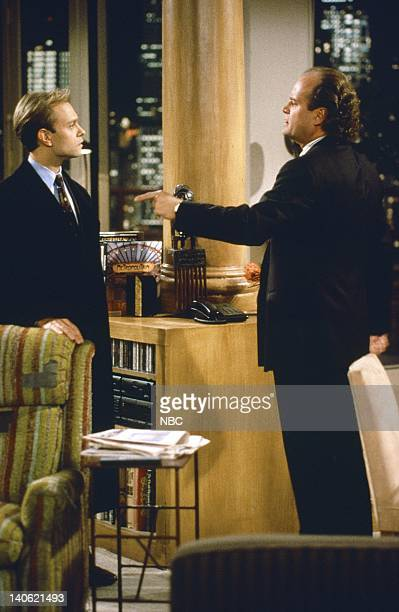 David Hyde Pierce as Doctor Niles Crane Kelsey Grammer as Doctor Frasier Crane Photo by NBCU Photo Bank