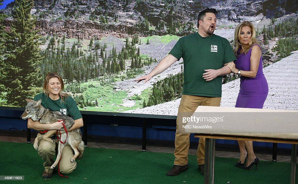 David Mizejewski and Kathie Lee Gifford appear on NBC News' 'Today' show --