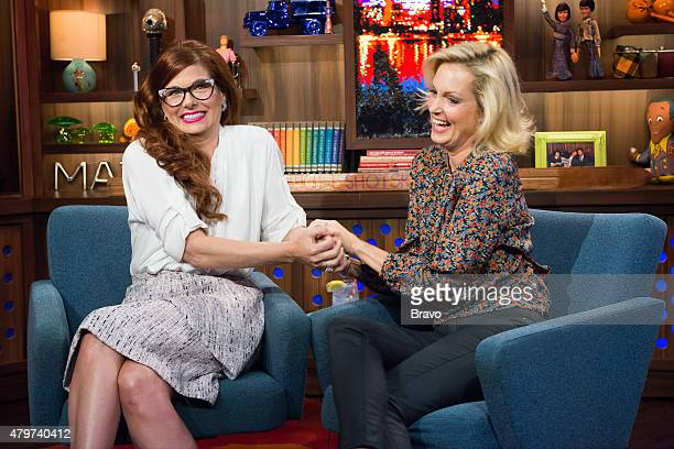 Debra Messing and Ali Wentworth