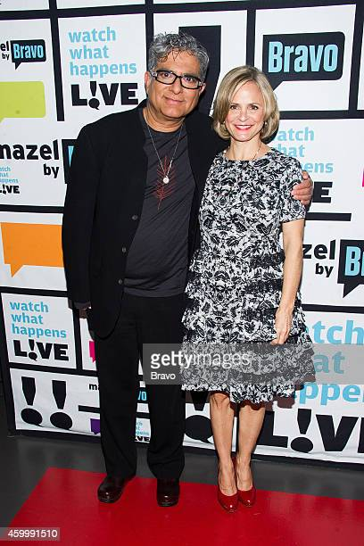 Deepak Chopra and Amy Sedaris