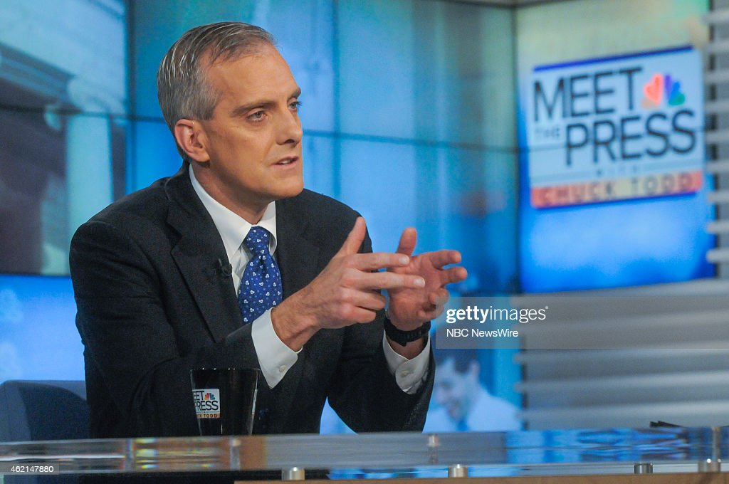 Denis McDonough, White House Chief of Staff, appears on 'Meet the Press' in Washington, D.C., Sunday Jan. 25, 2015.