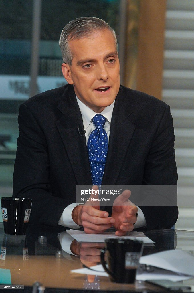 <a gi-track='captionPersonalityLinkClicked' href=/galleries/search?phrase=Denis+McDonough&family=editorial&specificpeople=5759820 ng-click='$event.stopPropagation()'>Denis McDonough</a>, White House Chief of Staff, appears on 'Meet the Press' in Washington, D.C., Sunday Jan. 25, 2015.