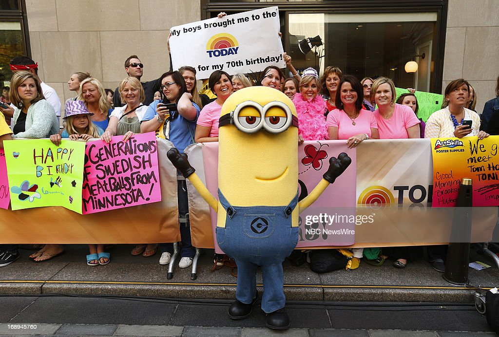 'Despicable Me 2' Minions appear on NBC News' 'Today' show --