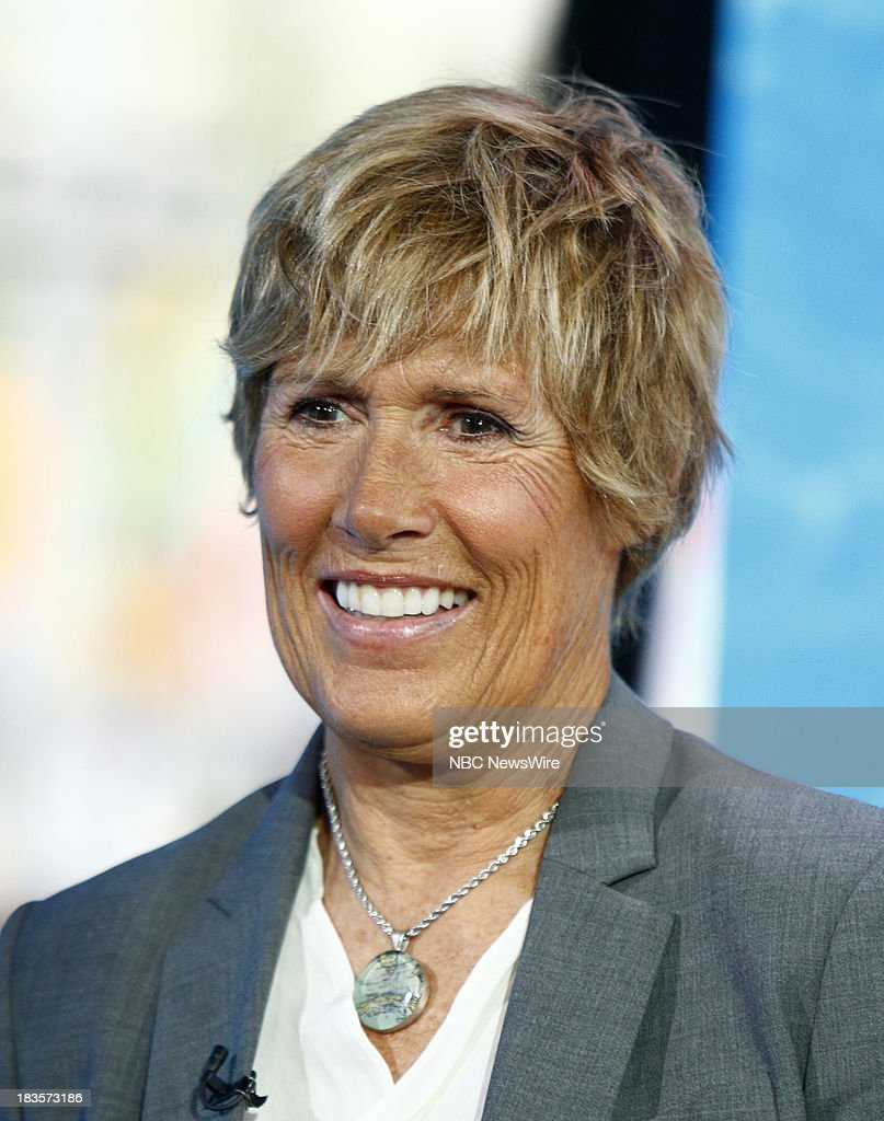 Diana Nyad appears on NBC News' 'Today' show