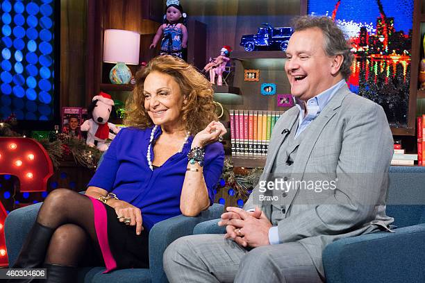Diane von Furstenberg and Hugh Bonneville