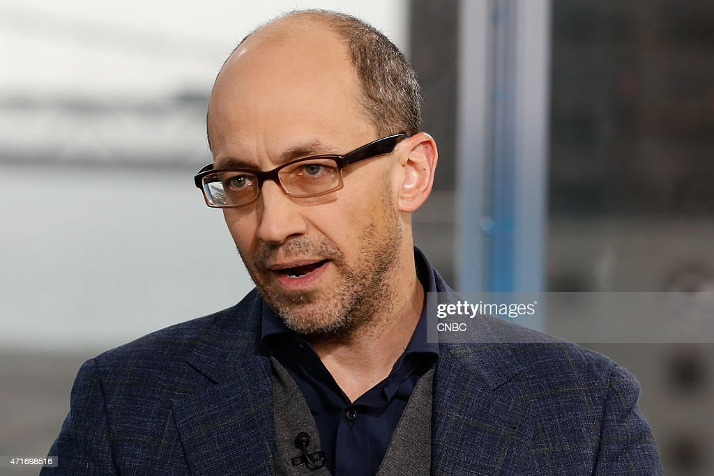 Dick Costolo CEO of Twitter in an interview at CNBC's San Francisco bureau on April 29 2015