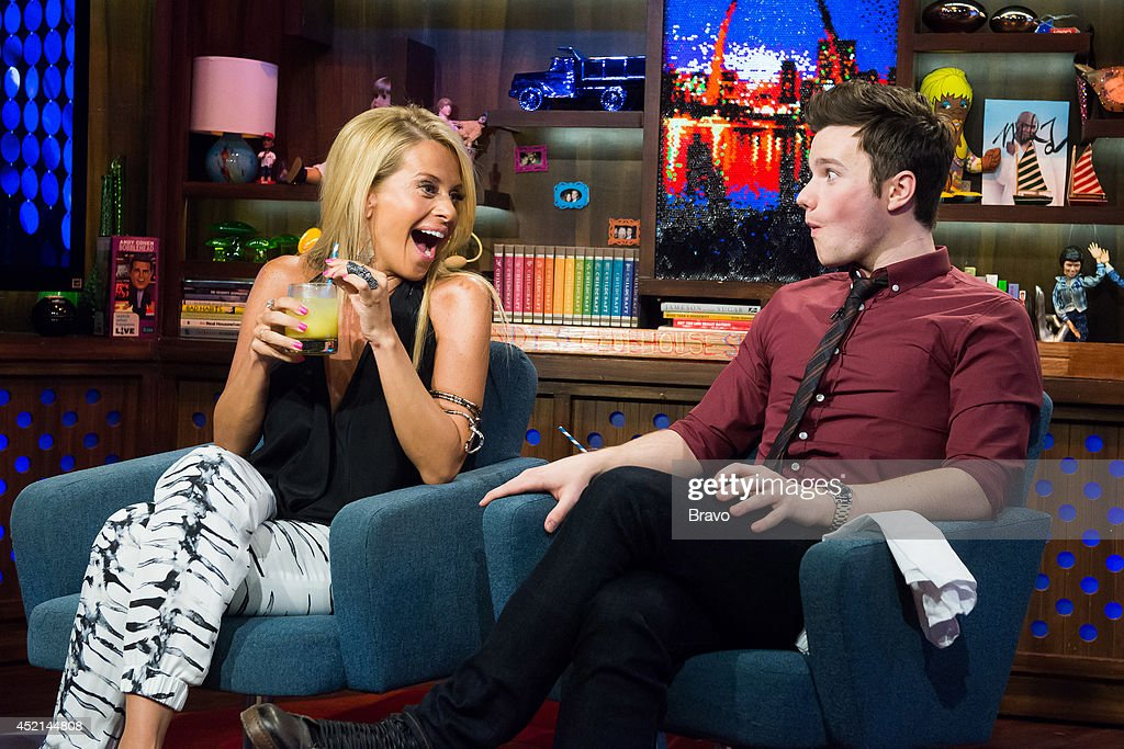 Dina Manzo and Chris Colfer --