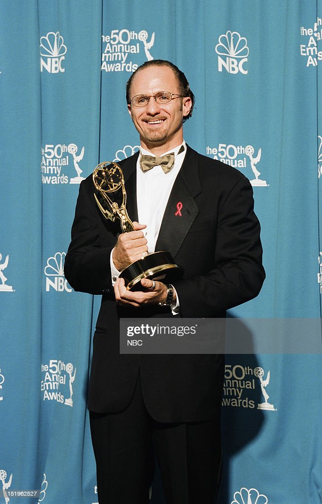 Director Todd Holland winner of Outstanding Directing for a Comedy Series for 'The Larry Sanders Show' during the 50th Annual Primetime Emmy Awards held at the Shrine Auditorium in Los Angeles, CA on September 13, 1998 --