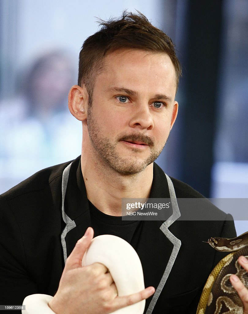 Dominic Monaghan appears on NBC News' 'Today' show --